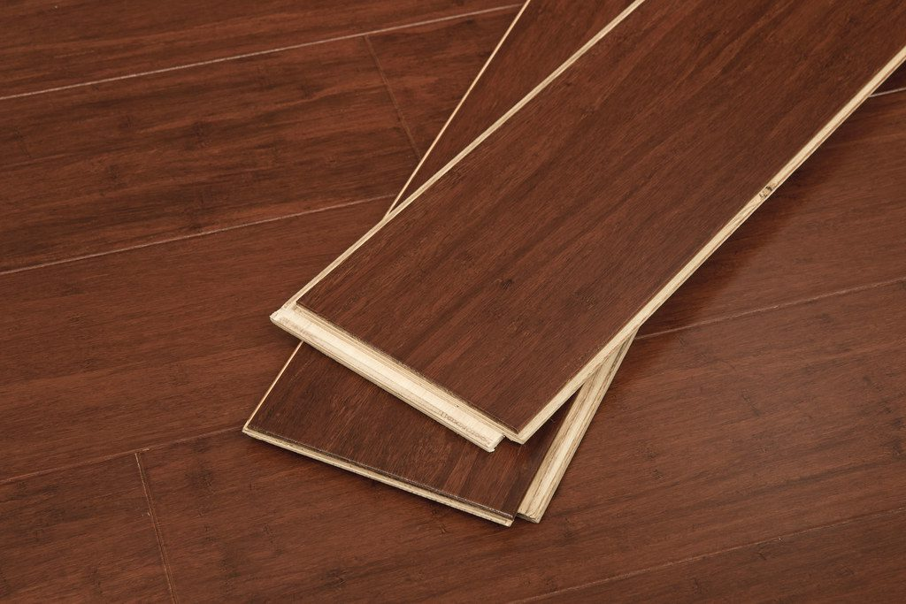Cognac Wide Click Engineered Bamboo 9/16