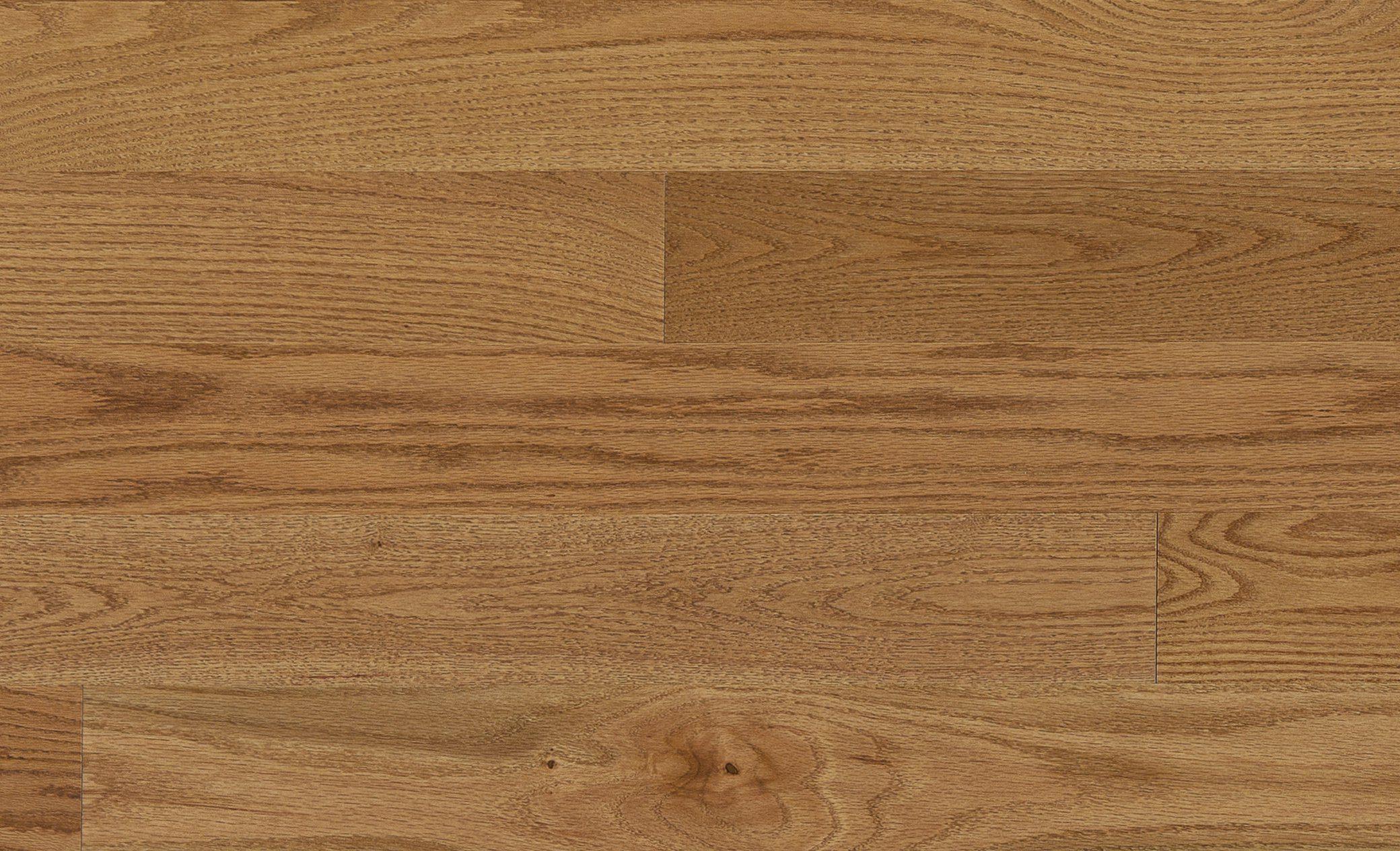 Mercier Toast Brown Red Oak Solid Width: 2 1/4