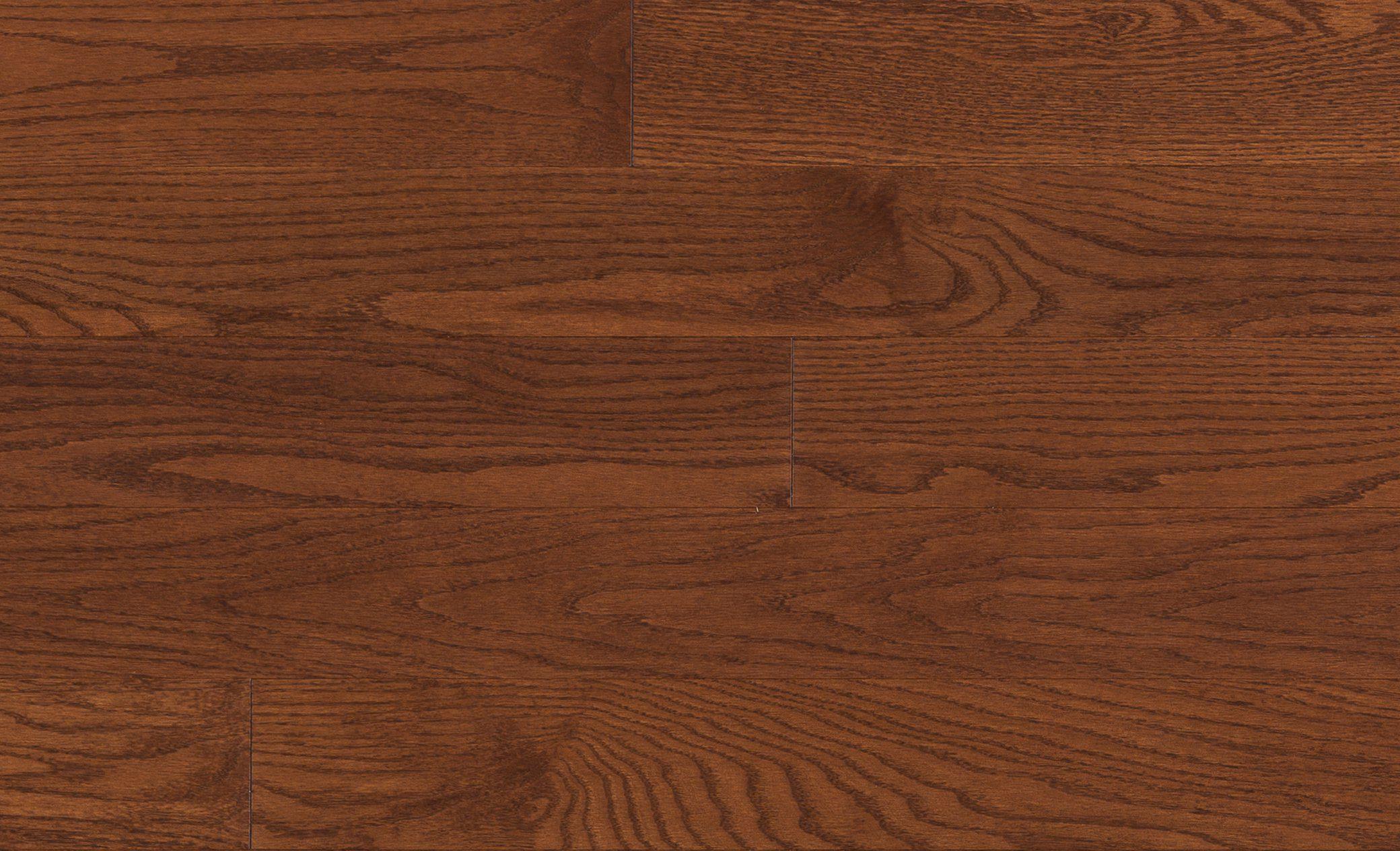 Mercier Red Oak Amaretto Solid Width: 2 1/4