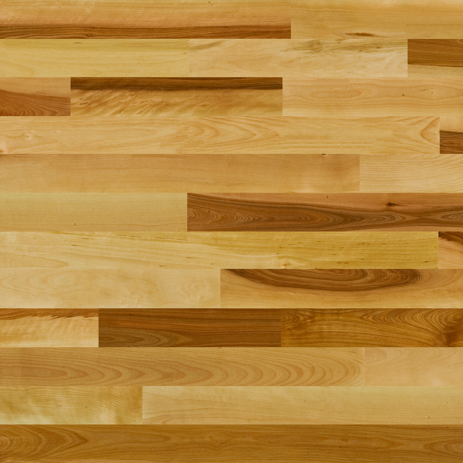 Yellow Birch Natural Solid 2 1/4