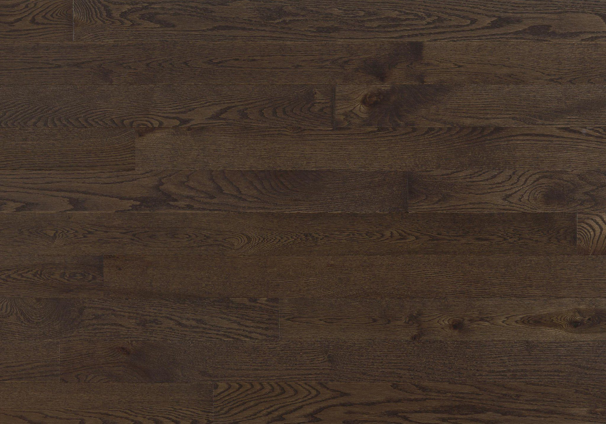 Red Oak Chocolate Expert Engineered  Wire Brushed 3-1/8