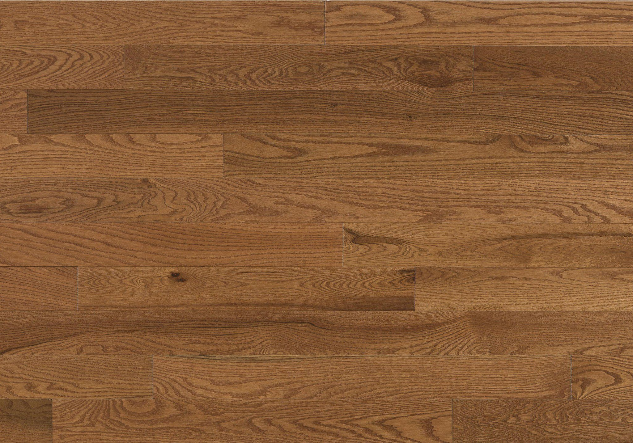 Red Oak Gingerbread Expert Engineered Wire Brushed Matte 3-1/8