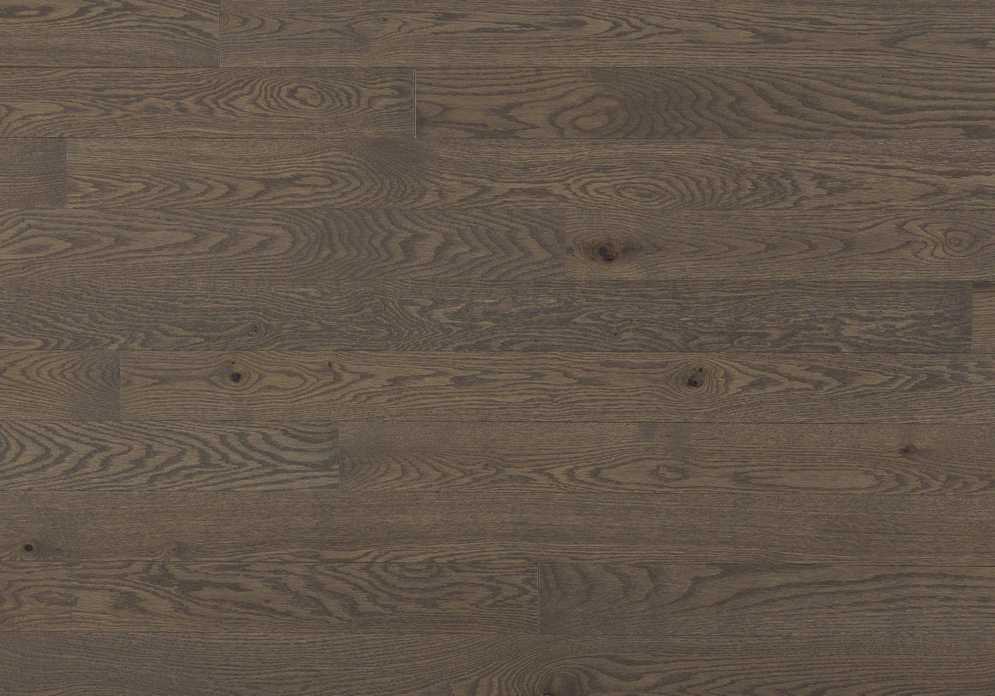 Red Oak Smoky Grey Expert Engineered Wire Brushed 3-1/8