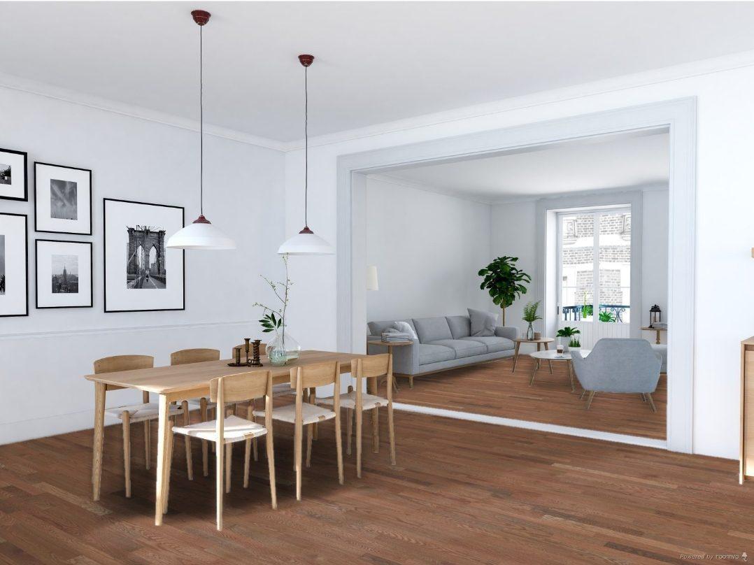 Lauzon Expert Cafe'Au Lait Red Oak Solid Width 3 1/4