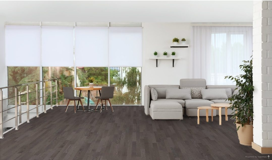 Lauzon Expert Smoky Grey Red Oak Solid; 4 1/4